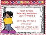 Writing Process First Grade Reading Wonders Unit 4 Week 2
