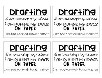 Writing Process Flip Book & Posters