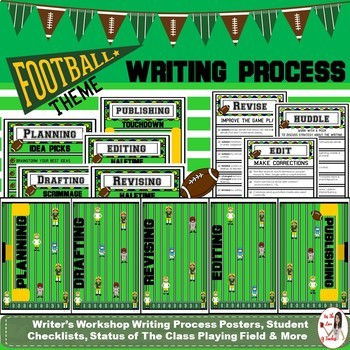 Writing Process- Football Theme