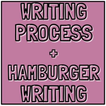 Writing Process & Hamburger Writing Posters