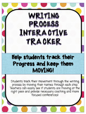 Writing Process Interactive Tracker