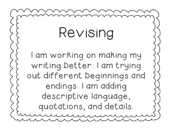 Writing Process Management Chart