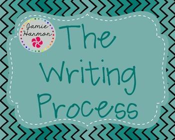Writing Process Mini Chart Set