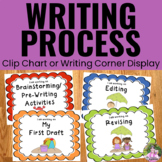 Writing Process Clip Chart Posters - Beach Theme