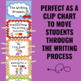 Writing Process Clip Chart - Circus Theme (1st edition)