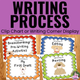 Writing Process Clip Chart Posters - Dog Theme
