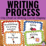 Writing Process Clip Chart - Ladybug Theme
