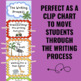 Writing Process Clip Chart - Safari Theme