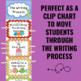 Writing Process Clip Chart - Sea Life Theme