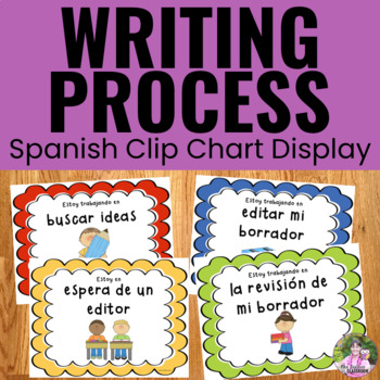 Writing Process Clip Chart ~SPANISH~