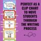 Writing Process Clip Chart - Sports Theme