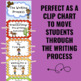 Writing Process Clip Chart - Western Theme
