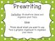 Writing Process Multi Colored Polka Dot