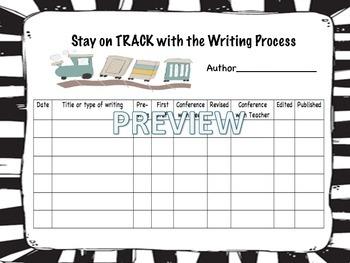 Writing Process Organizer
