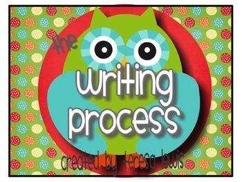 Writing Process Owl Theme