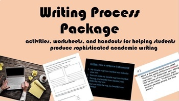 Writing Process Package