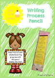 Editable Writing Process Pencil
