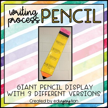 Writing Process Pencil