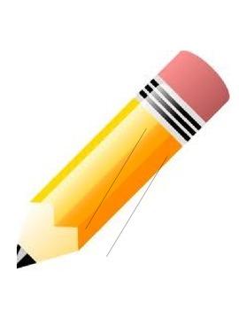 Writing Process Pencil Visuals
