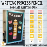 Writing Process Pencil for Classroom Bulletin Boards (Trac