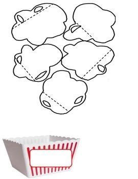 Writing Process Popcorn Interactive Notebook