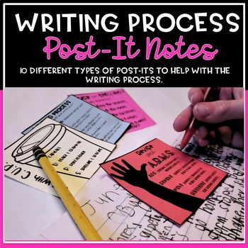 Writing Process Sticky Notes