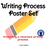 Writing Process Poster Set