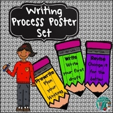Back to School Writing Process Poster Set