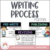 Writing Process Posters {Black Strip}