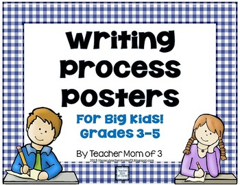 Writing Process and Writing Types Posters