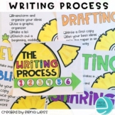 Writing Process Posters: Pineapple Theme