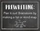 Writing Process Posters CHALKBOARD STYLE