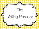 Writing Process Posters/ Chart