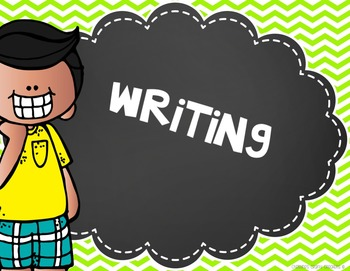 Writing Process Posters (FREE)