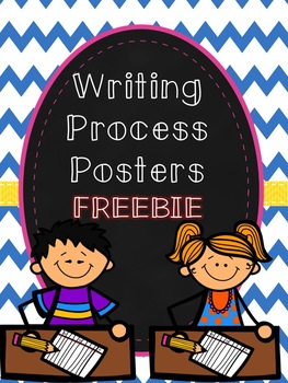 Writing Process Posters FREEBIE