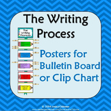Writing Process Posters: Bulletin Board or Clip Chart