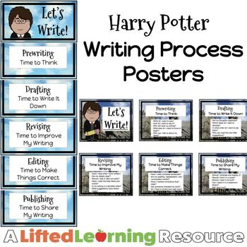 Writing Process Posters - Harry Potter