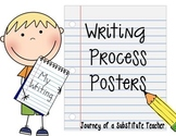 Writing Process Posters: Kid Friendly Picture Set