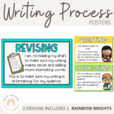 Writing Process Posters {Rainbow Theme}