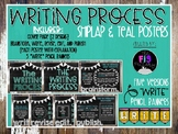 Writing Process Posters-Shiplap & Teal