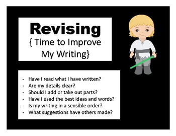 Writing Process Posters: Star Wars