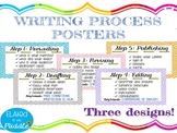 Writing Process Posters: THREE Designs!