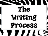 Writing Process Posters-Zebra