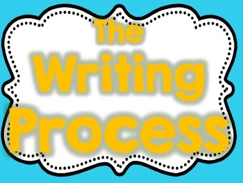Writing Process Posters and Clip Chart