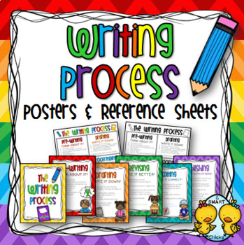 Writing Process Posters and Student Reference Sheets