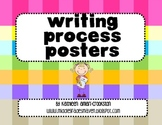 Writing Process Posters for Intermediate Grades