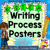 Writing Process Posters for Upper Grades-  Free!
