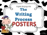 Writing Process Posters for the Classroom: Cow Theme