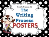 Writing Process Posters for the Classroom: Black & White P