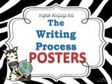 Writing Process Posters for the Classroom: Zebra Theme